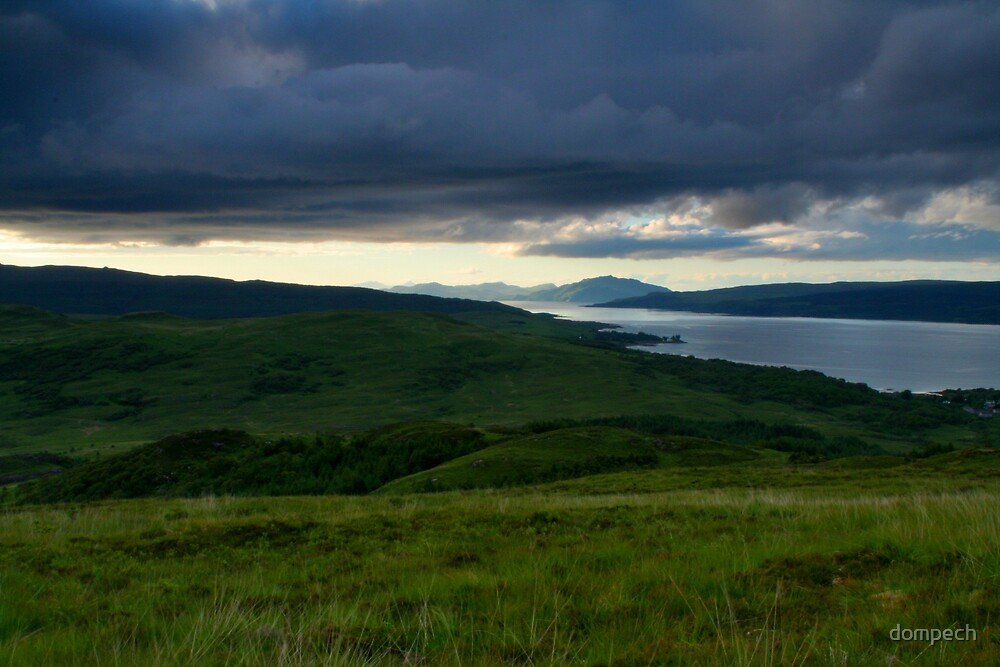 Isle of Mull landscape by dompech