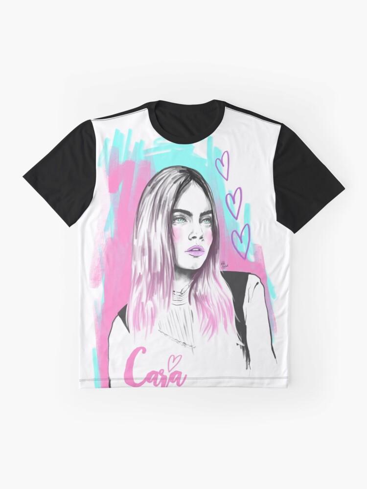 Alternate view of Cara Graphic T-Shirt