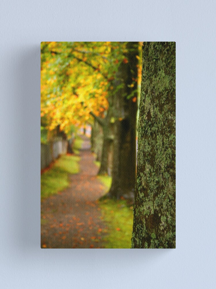 Alternate view of In a row Canvas Print