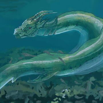 Fluid Dragon by Eireni