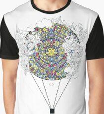 Mayan zodiac circle teeshirt Graphic T-Shirt