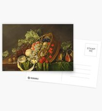 Cornelis De Heem - Still Life With A Basket Of Fruitc. 1654 Postcards