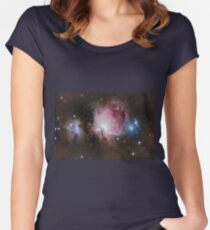 Deep space: Orion Nebula (Messier M42) Women's Fitted Scoop T-Shirt
