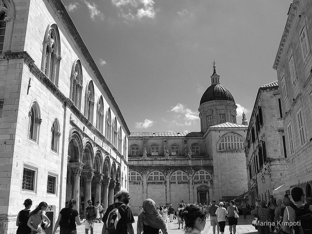 Dubrovnik Cathedral by Marina Krmpotić