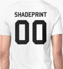 Shadeprint. | Official Numbers. [Inverse] Unisex T-Shirt