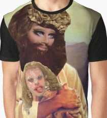 Drag Jesus Trixie with a Katya Lamb Graphic T-Shirt