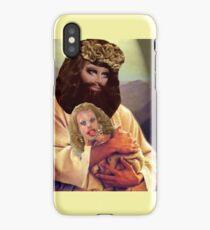 Drag Jesus Trixie with a Katya Lamb iPhone Case/Skin