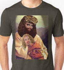 Drag Jesus Trixie with a Katya Lamb Unisex T-Shirt