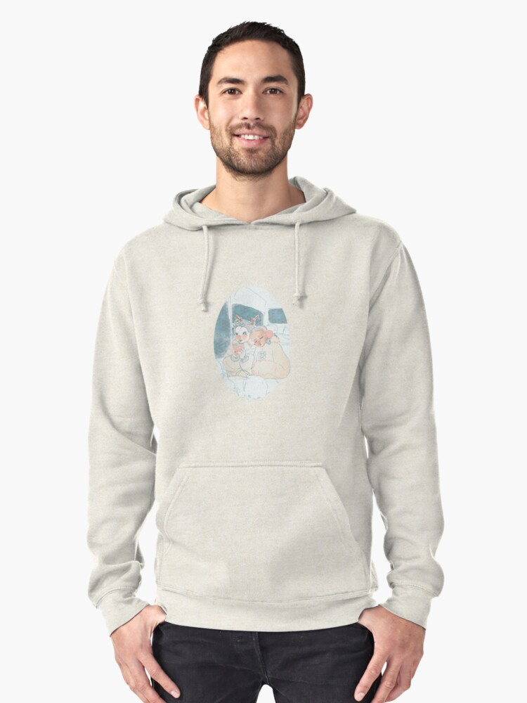 Christmas Coffee Pullover Hoodie Front