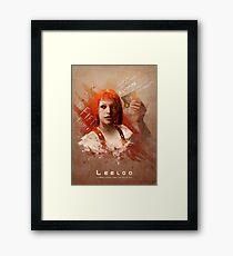 Leeloo Dallas, Multipass! Framed Print