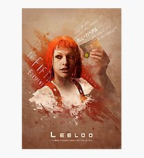 Leeloo Dallas, Multipass! Photographic Print
