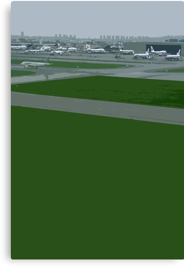 airport green by Yuval Fogelson