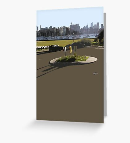 roundabout Greeting Card
