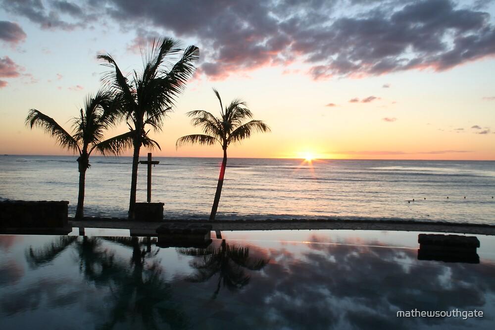 A Mauritian Sunset by mathewsouthgate