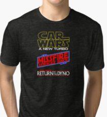 Car Wars Trilogy Tri-blend T-Shirt