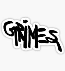 GRIMES Sticker