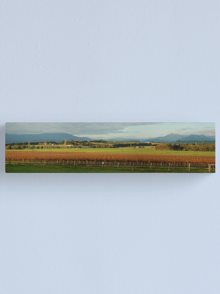 Alternate view of Yarra Valley Canvas Print