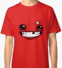 SuperMeatBoyLogo Classic T-Shirt