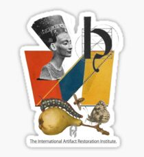 The International Artifact Restoration Institute. Sticker