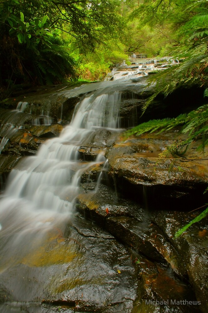 Leura Cascades .. take 2 by Michael Matthews