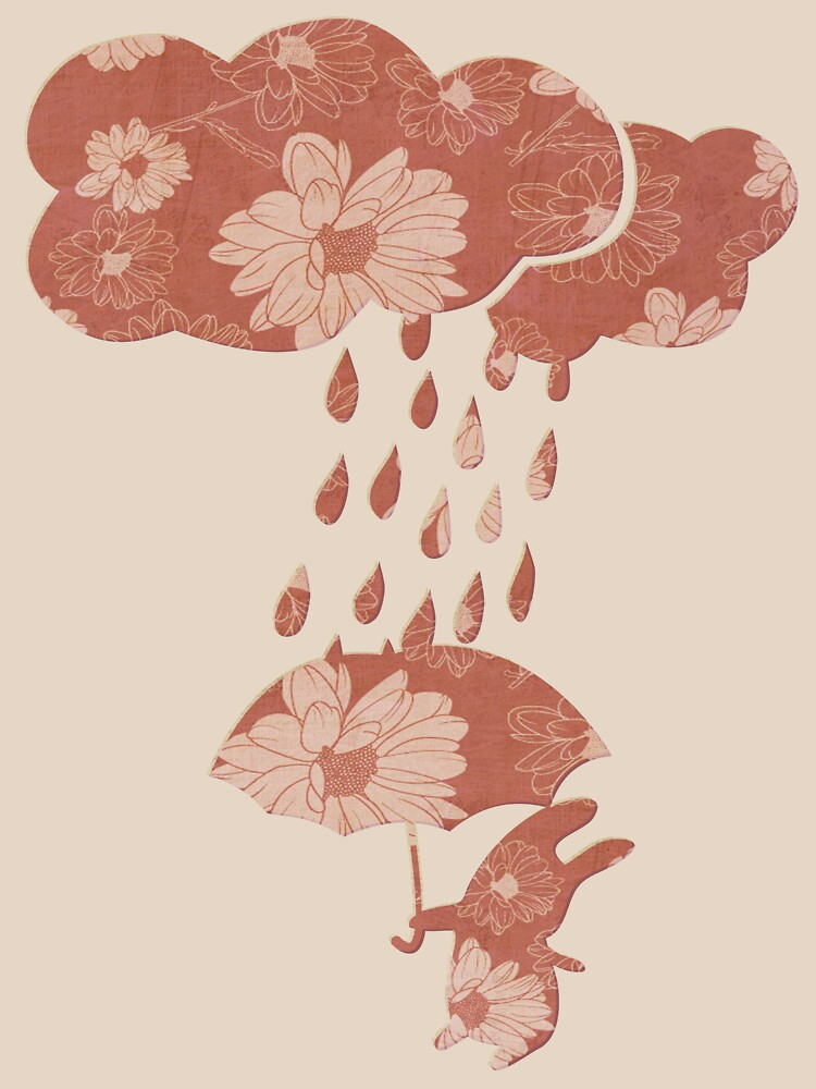 Song of the Rain (Floral pattern) by pencilplus