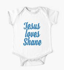 Jesus loves Shane One Piece - Short Sleeve