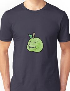 funny apple cartoon character Unisex T-Shirt