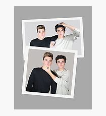 The Dolan Twins Photographic Print