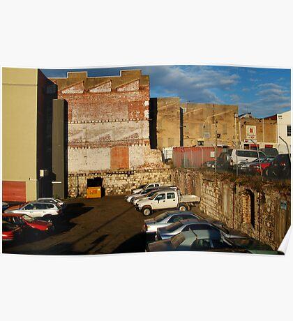 Back Alley Parking Poster