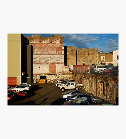 Back Alley Parking Photographic Print