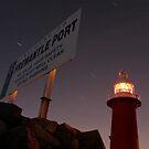 North Mole Lighthouse - Fremantle Western Australia  by EOS20