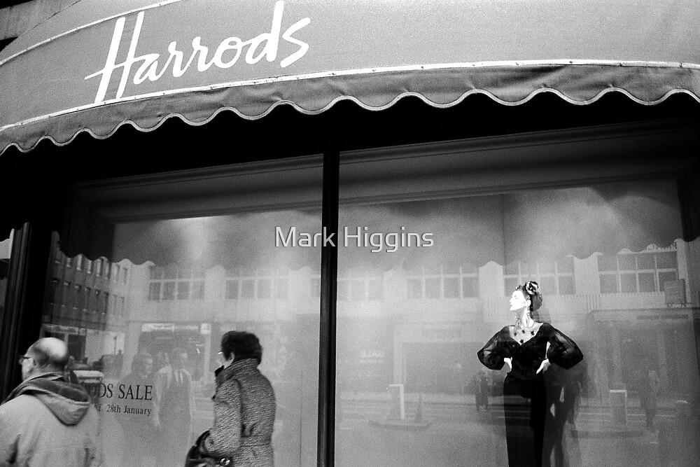 Harrod's Mannequin by Mark Higgins