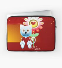 With love Laptoptasche