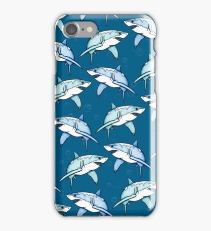 Shiver of Sharks - II iPhone Case/Skin