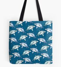 Shiver of Sharks - II Tote Bag