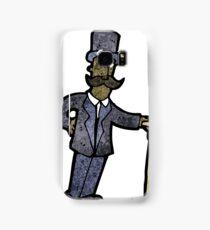 cartoon victorian man Samsung Galaxy Case/Skin