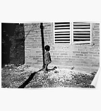 Cuban Child in Slums Poster