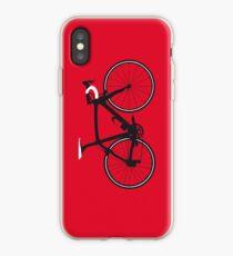 Bike Pop Art (Black & White) iPhone Case