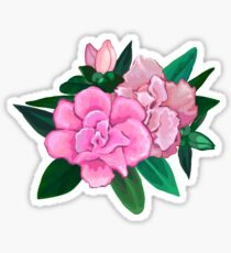 Azalea bouquet Sticker