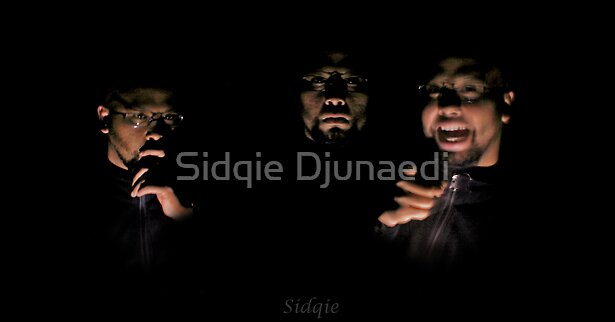 Self Portrait by Sidqie Djunaedi