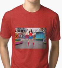 Hullywood Icon - Tricia Boulton Tri-blend T-Shirt