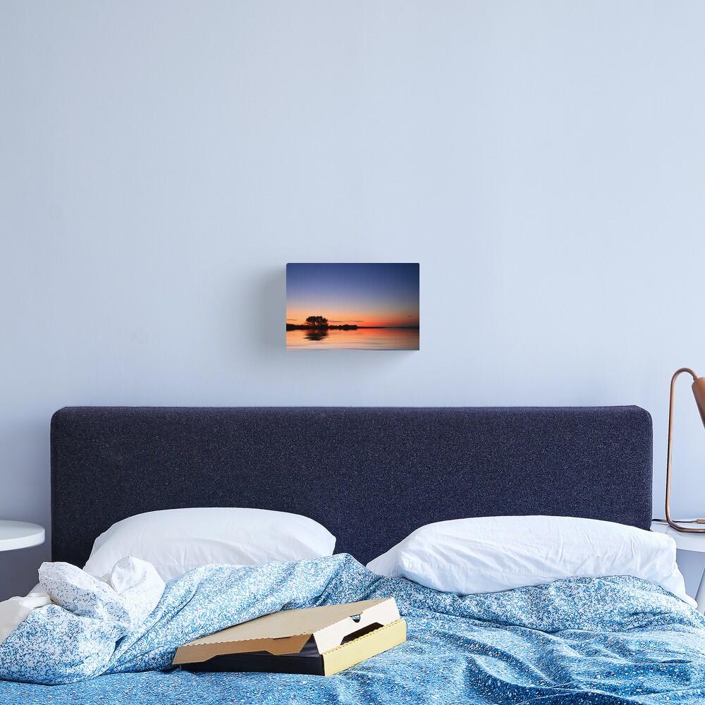 Sunset Port Arlington Canvas Print