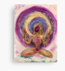 Abstract Enlightened Female Canvas Print