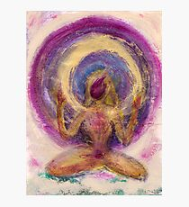 Abstract Enlightened Female Photographic Print