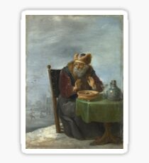 David Teniers The Younger - Winter Sticker