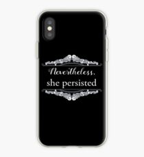She Persisted (ACLU benefit) iPhone Case