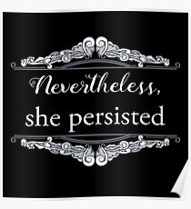 She Persisted (ACLU benefit) Poster