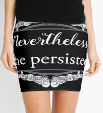 She Persisted (ACLU benefit) Mini Skirt
