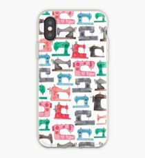 Sewing Machines iPhone Case