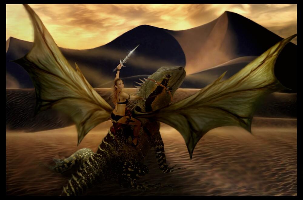 Dragon Rider by Cliff Vestergaard